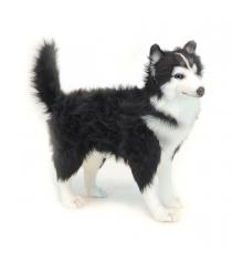 Мягкая игрушка Hansa хаски чёрно белая 56 см 6495