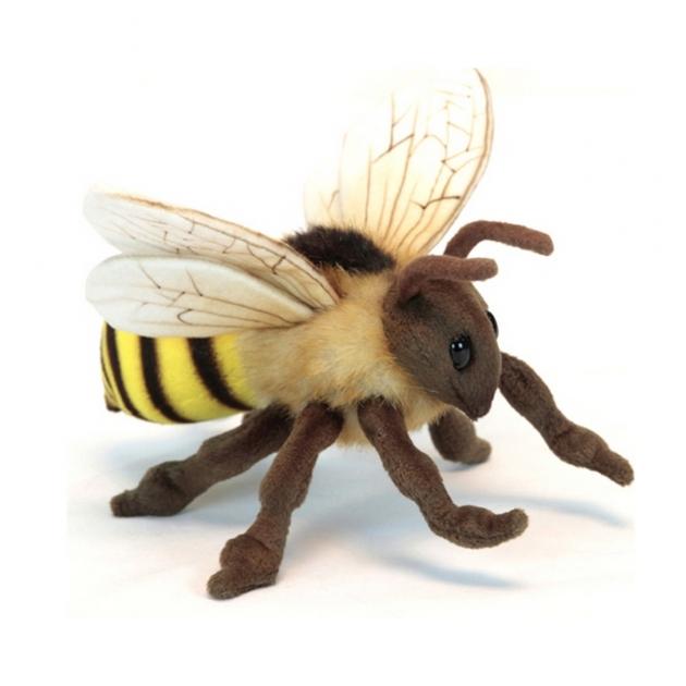 Мягкая игрушка европейские животные пчелка 22 см Hansa 6565