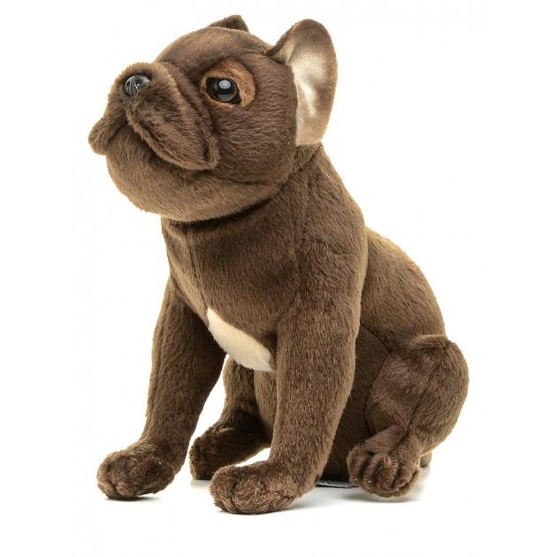 Мягкая игрушка щенок французского бульдога 20 см Hansa 6593