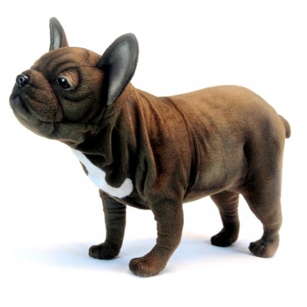 Мягкая игрушка французский бульдог стоячая 26 см Hansa 6594