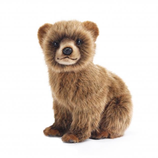 Мягкая игрушка медвежонок коричневая 24 см Hansa 7037