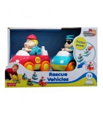 Спасательные машинки пожарная и скорая помощь Happy Kid 221G...