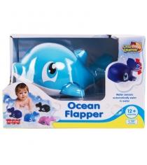Игрушка для купания водоплавающие голубой дельфин Happy Kid 4303...