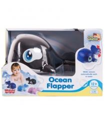 Игрушка для купания водоплавающие черный кит Happy Kid 4304...