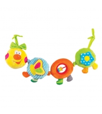 Игрушка подвеска Happy snail весёлая гусеница камилла 14HS003PG