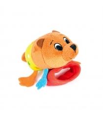 Игрушка погремушка на ручку Happy snail медвежонок берни 14HSB01BE