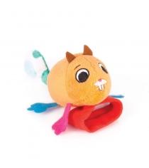 Игрушка погремушка на ручку Happy snail бельчонок Хруми 14HSB02HR