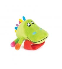 Игрушка погремушка на ручку Happy snail крокодил Кроко 14HSB04CR