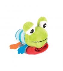 Игрушка погремушка на ручку Happy snail лягушонок квака 14HSB05KV