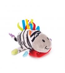 Игрушка погремушка на ручку Happy snail зебра фру фру 14HSB06FR