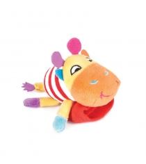 Игрушка погремушка на ручку Happy snail жираф спот 14HSB07SP