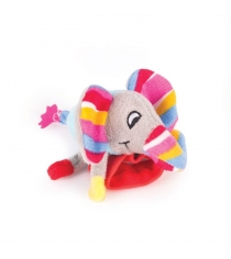 Игрушка погремушка на ручку Happy snail слонёнок джамбо 14HSB08JU