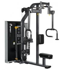 Баттерфляй задняя дельта Spirit Fitness DWS107-U2