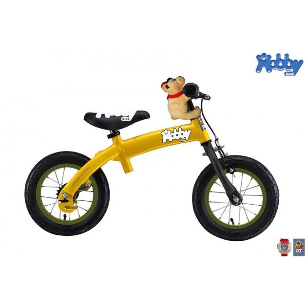 Велобалансир Hobby bike RToriginal alu new 2016 yellow 5242