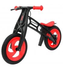 Велобалансир беговел Hobby bike RT fly в черная оса plastic red black в шины вол...