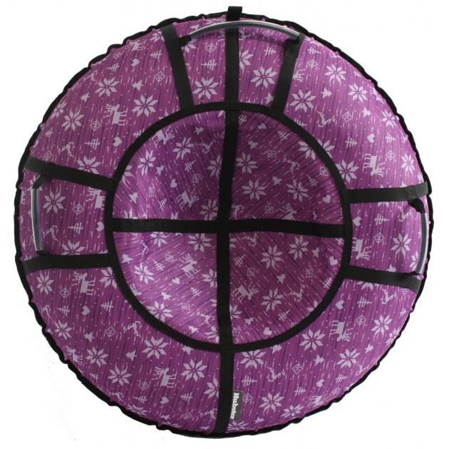 Тюбинг Hubster Люкс Pro Тундра, фиолетовая 90 см