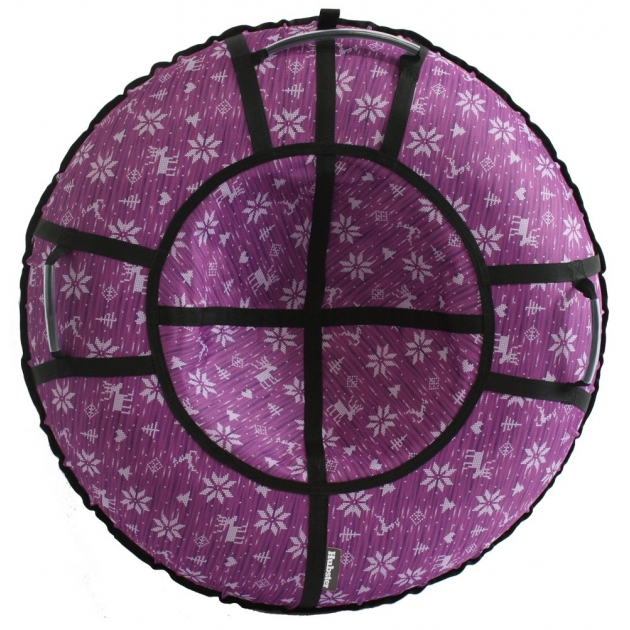 Тюбинг Hubster Люкс Pro Тундра, фиолетовая 120 см