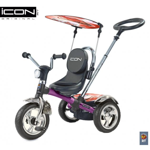 Трехколесный велосипед RT ICON 4 Fuksia Angel 3676