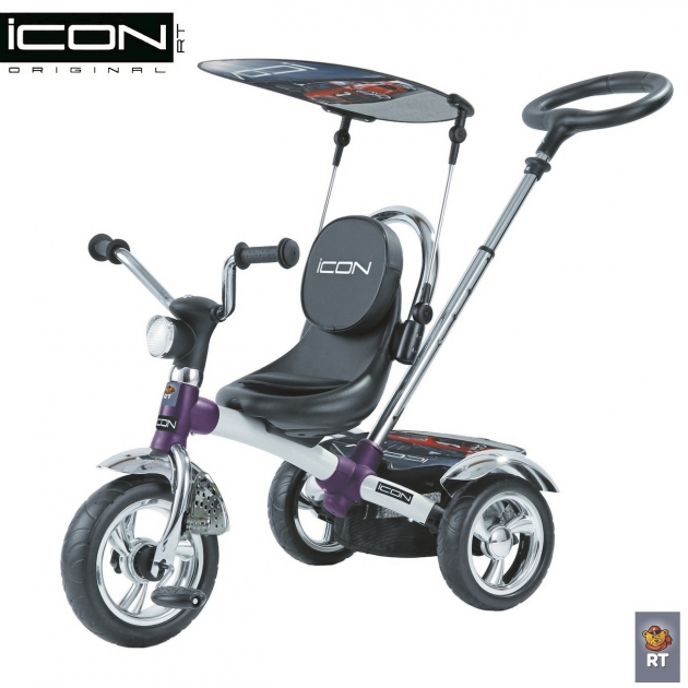 Трехколесный велосипед RT ICON 4 White Pearl Car 3677