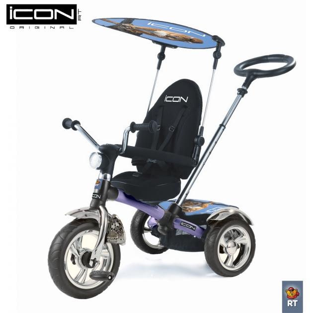 Трехколесный велосипед RT ICON 3 Lexus Trike Original сер/син 4013