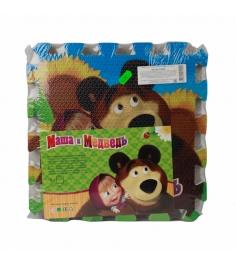 Коврик пазл Играем вместе маша и медведь FS-MM