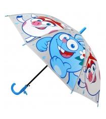 Детский зонт смешарики со свистком 50 см Играем Вместе UM45T-SME