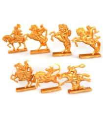 Фигурки воинов золотая орда Игрушкин 22103