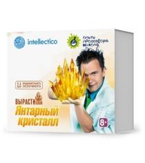 Набор для выращивания янтарный кристалл цвет оранжевый Intellectico 502