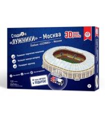 3d пазл стадион москва лужники IQ 3D Puzzle 16546