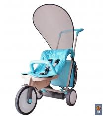 Трициклет 3х3 Italtrike evolution light blue 1705