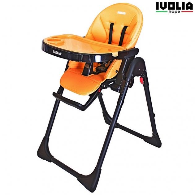 Стульчик для кормления Ivolia hope 01 2 колеса orange 6206