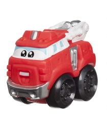 Машинка из серии chuck and friends бумер 10 см Jazwares 92591