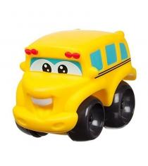 Машинка chuck and friends школьный автобус 10 см Jazwares 92706