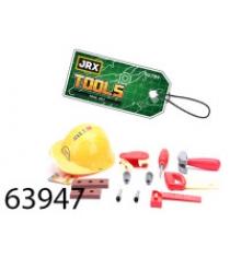 Набор инструментов прораб с каской Jrx 63947
