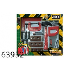 Набор игрушечных инструментов настоящий мастер Jrx 63952