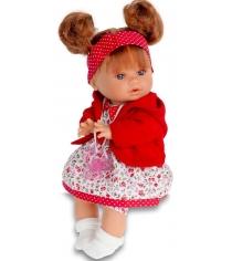 Кукла Juan Antonio Кристи в красном 30 см 1337R