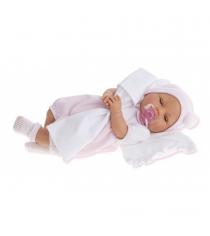 Кукла Габи в розовом плачет 37 см Juan Antonio Munecas 1444P