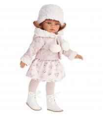 Кукла Эльвира Зимний образ рыжая 33 см Juan Antonio Munecas 2586W