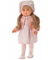 Кукла Juan Antonio Амалия в розовом 45см 2810P