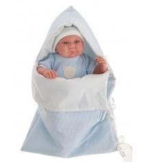 Кукла Juan Antonio Ферран в голубом 40 см 3365B