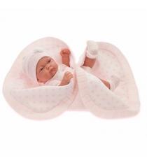 Кукла Juan Antonio младенец Карла в розовом 26 см 4069P