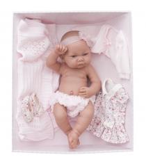 Кукла младенец Эльза в розовом 42 см Juan Antonio Munecas 5073P