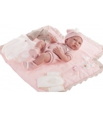 Кукла Кармелита с комплектом для пеленания 42 см Juan Antonio Munecas 5095P