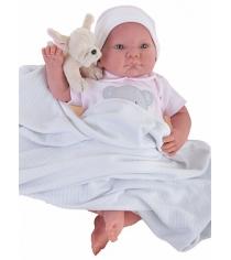 Кукла реборн Juan Antonio младенец Ника 40см 8109