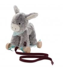 Детская каталка друзья ослик на колесиках kaloo k962991