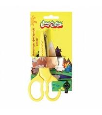 Ножницы детские фигурные зиг заг 13 5 см Каляка Маляка НЗКМ135