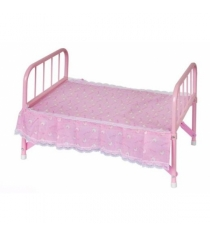 Кроватка для кукол Карапуз металл с матрасом B1403781-RU