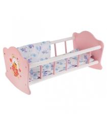 Кроватка для кукол 52 см Карапуз RB-B-W