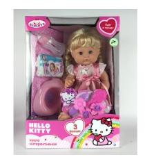 Интерактивная кукла  hello kitty 3 функции Карапуз y40g-dp-ru-hk
