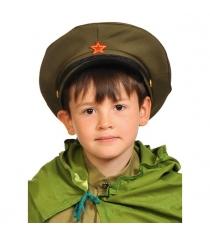 Карнавальный шапка фуражка командира размер 52-54 Карнаволофф